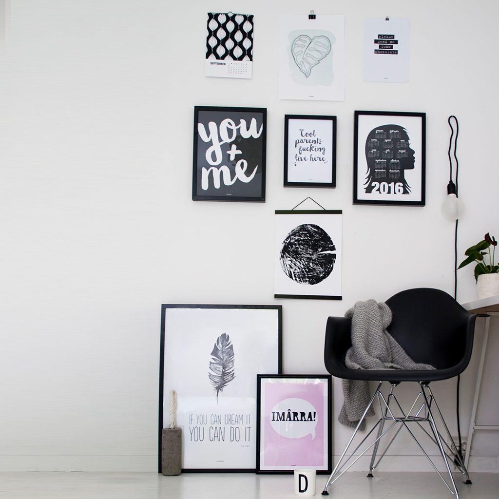 Design Bilder bildevegg designparken