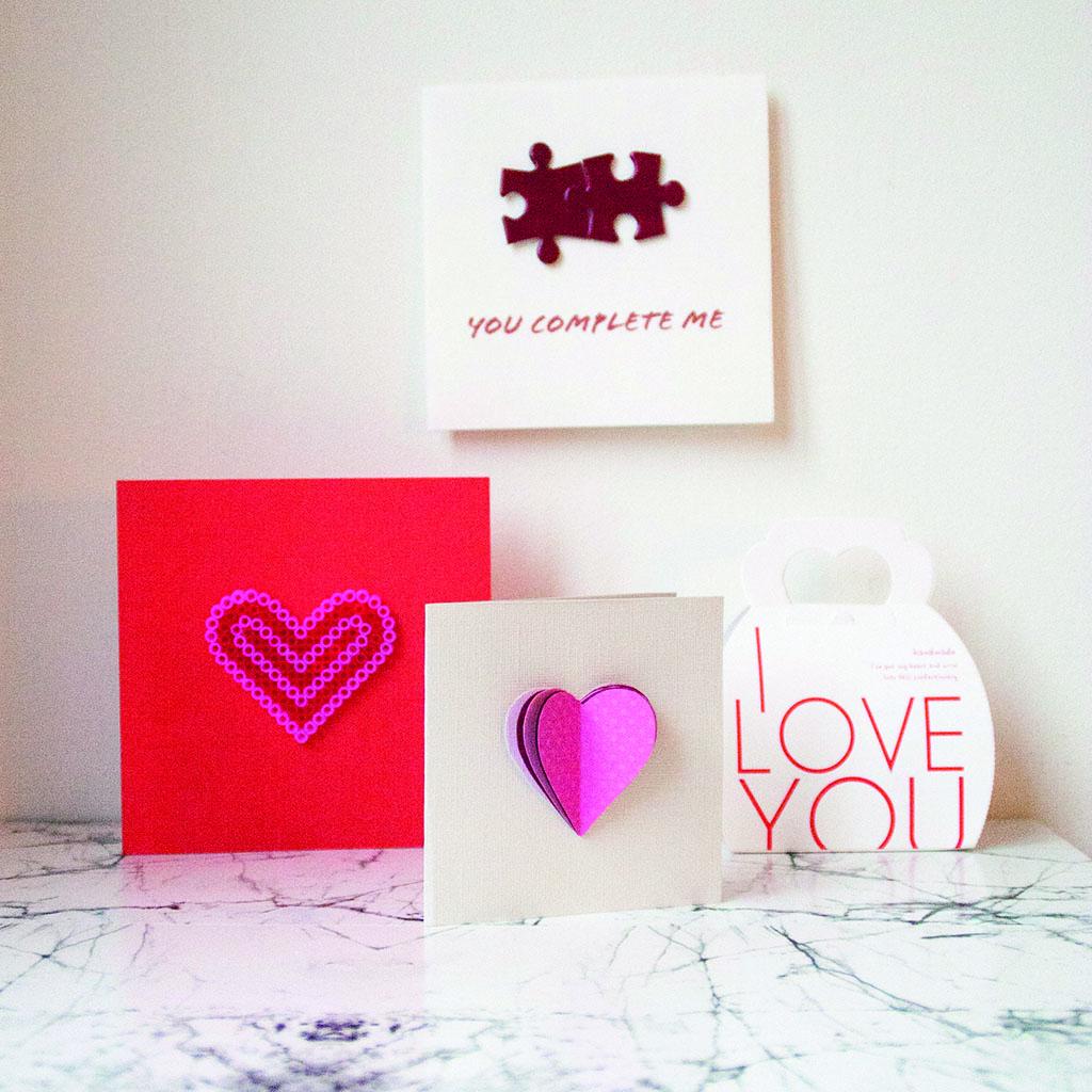Valentineskort du lager selv – DIY