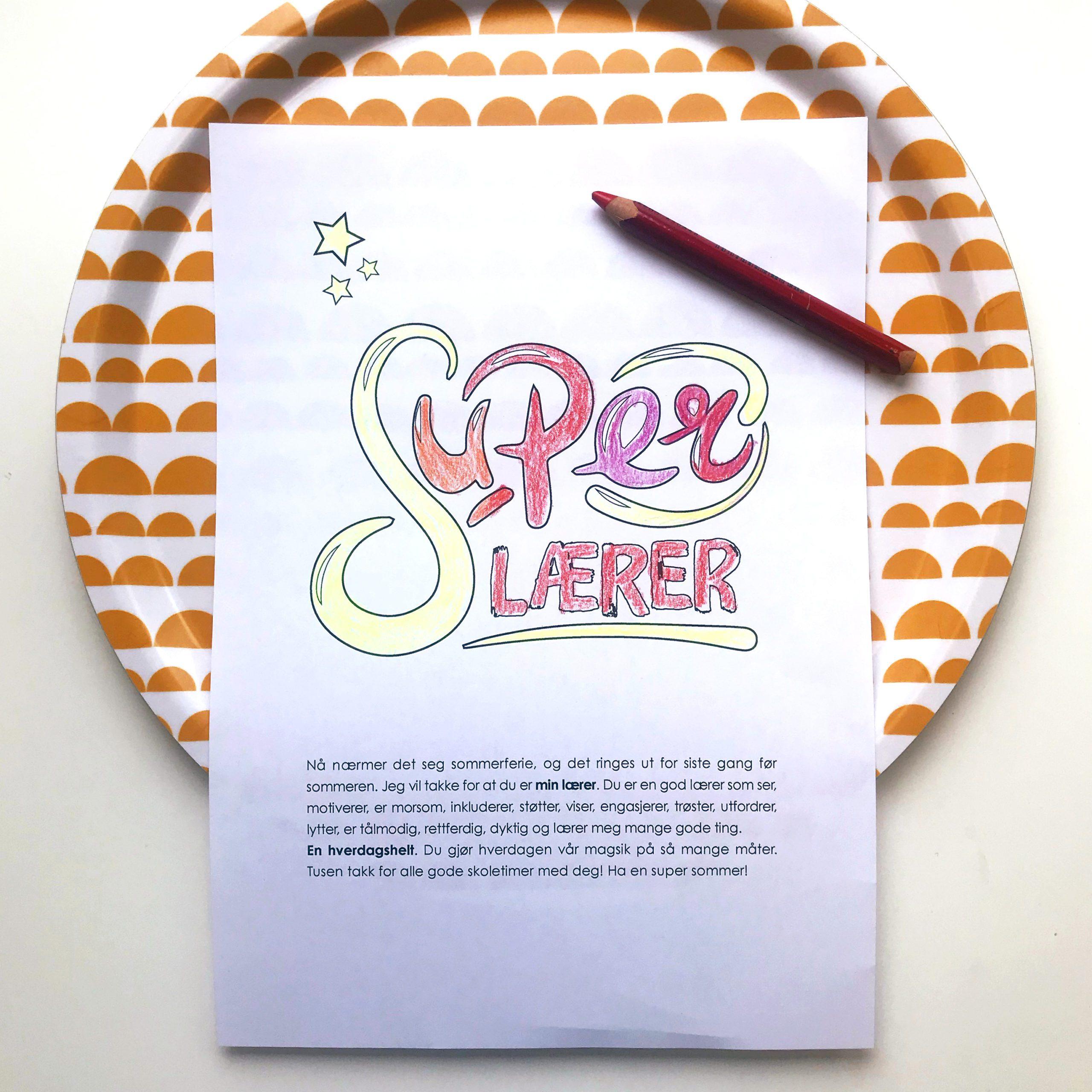 SUPER LÆRER
