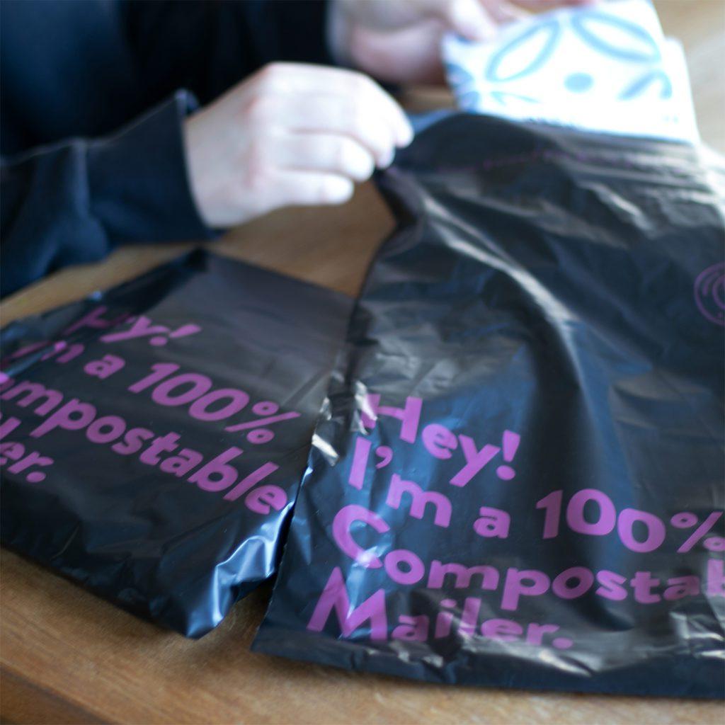 Designparken komposterbar emballasje
