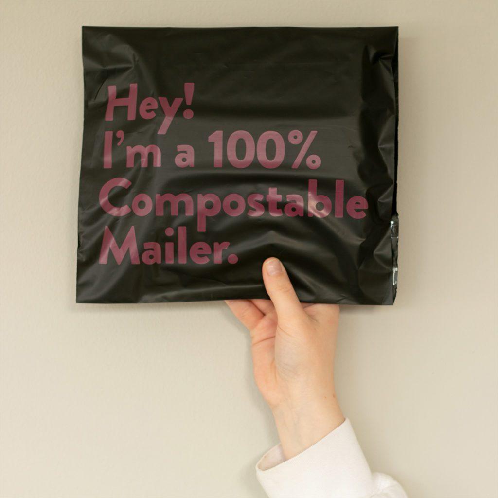 Komposterbar emballasje Designparken