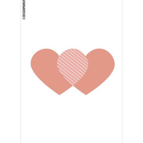 Hjerte Pakkelapp
